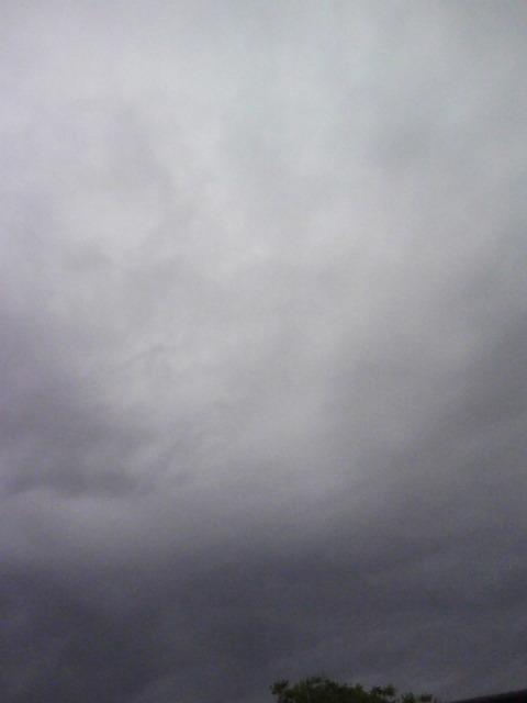 暗いけど、あたたかな小雨の朝