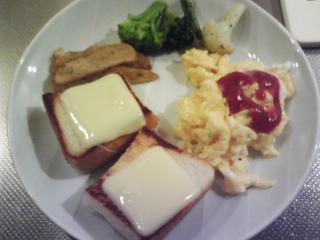 きょうの朝食/ スクランブルエッグ