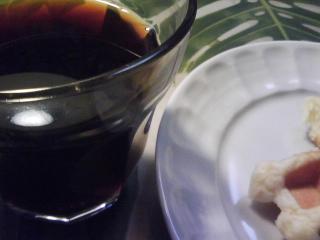 きょうの朝食/ ワッフルとコーヒー