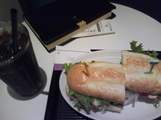 きょうの朝食/ チキンBBQサンド